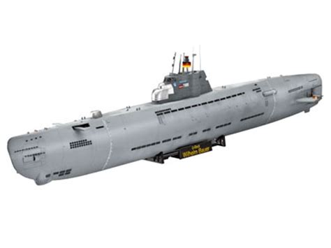 U Boat Watch From Wish by Revell 1 144 Wilhelm Bauer German Submarine U Boat 5072 Ebay