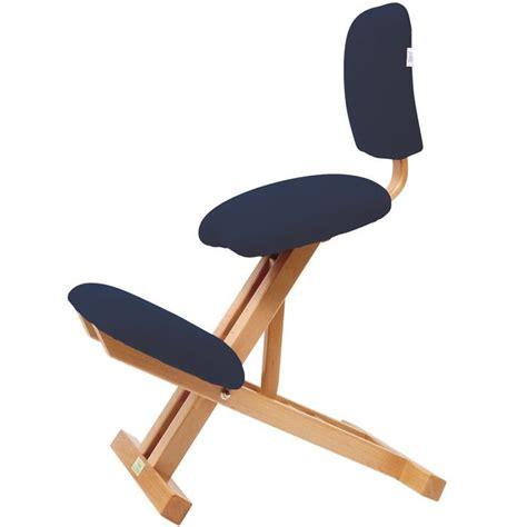 chaise ergonomique pliable repose genoux avec dossier s2105 224 306 14