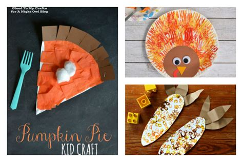 8 Super Fun And Easy Thanksgiving Crafts For Kids Cool