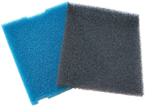 tetra pond tetra pond replacement foam for flat box filter