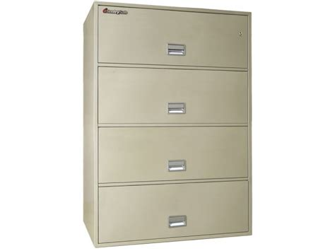 4 Drawer Fireproof File Cabinet by 4 Drawer Lateral Fireproof File Cabinet
