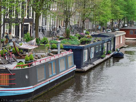 Houseboat Jobs by Small Spaces Houseboats In Amsterdam Duck Egg Blue