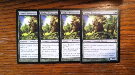 mtg quot angry orchard quot treefolk deck
