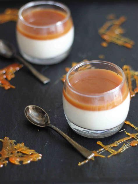 panna cotta au caramel au beurre sal 233 contes et d 233 lices