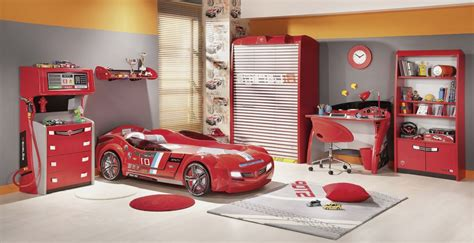 Cars 3 Home Decor : Bedroom Futuristic Car Design With Modern Racing Race