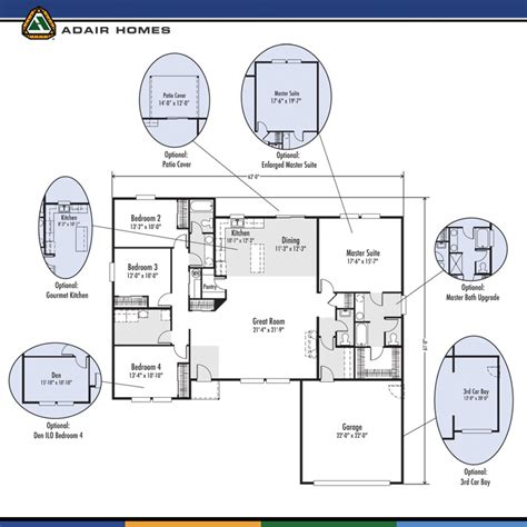 adair homes the lewisville 2325 home plan