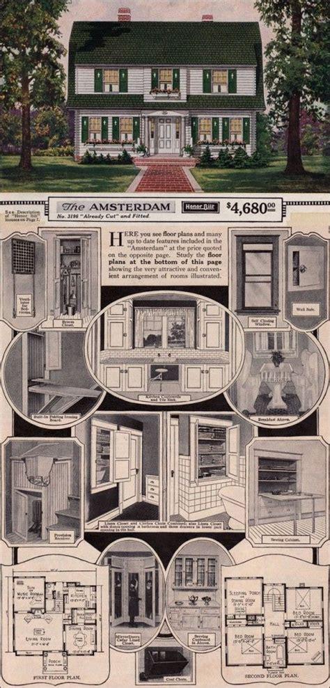 1927 goodrich revival cottage william a best 25 vintage house plans ideas on bungalow