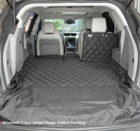 Dog Boat Seat by Suv 60 40 Split Cargo Cover Liner For Dogs And Pets