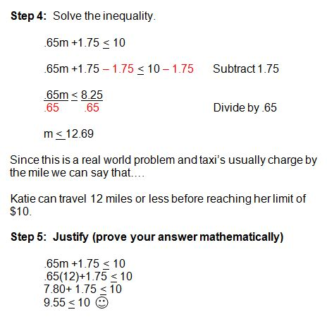 Solving Word Problems In Algebra Inequalities