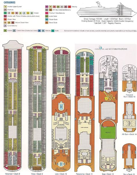 carnival cruise floor plans wallpapers punchaos