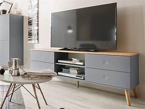 Tv Lowboard Grau : joan tv m bel wohnzimmer lowboard 162 eiche grau skandinavisch modern pinterest tvs and haus ~ Markanthonyermac.com Haus und Dekorationen