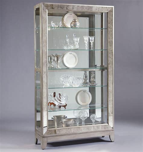 pulaski furniture curios platinum side entry curio cabinet
