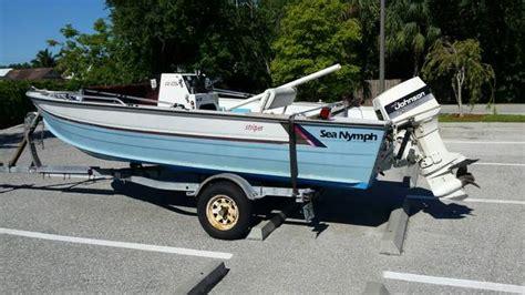 Aluminium Boat Sea Nymph by 1987 Sea Nymph 16 Aluminum Boat W Trailer 990 Naples