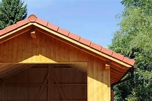 Holzgarage Mit Carport : fertiggaragen aus holz ~ Markanthonyermac.com Haus und Dekorationen