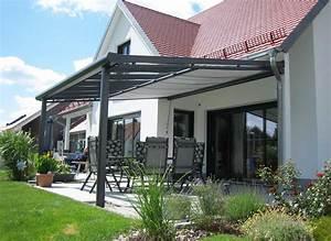 Seitenwände Für Terrassenüberdachung Stoff : terrassen berdachung alu glas bausatz mit sonnenschutz ~ Markanthonyermac.com Haus und Dekorationen