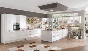 Küchen Weiß Hochglanz : moderne einbauk che norina 6676 alpinweiss hochglanz lack k chen quelle ~ Markanthonyermac.com Haus und Dekorationen