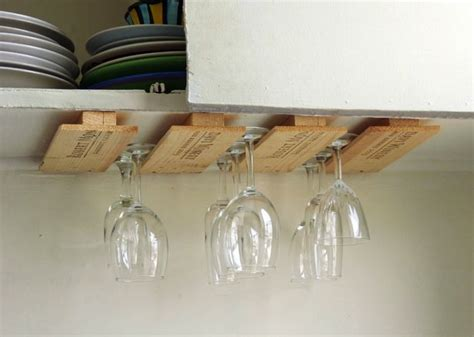 wood how to make a wine glass rack cabinet pdf plans