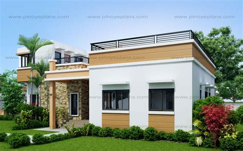 photo of small waterfront home plans ideas four bedroom one storey with roof deck shd 2015021