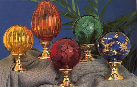 cristal decors produits boules de res d escalier