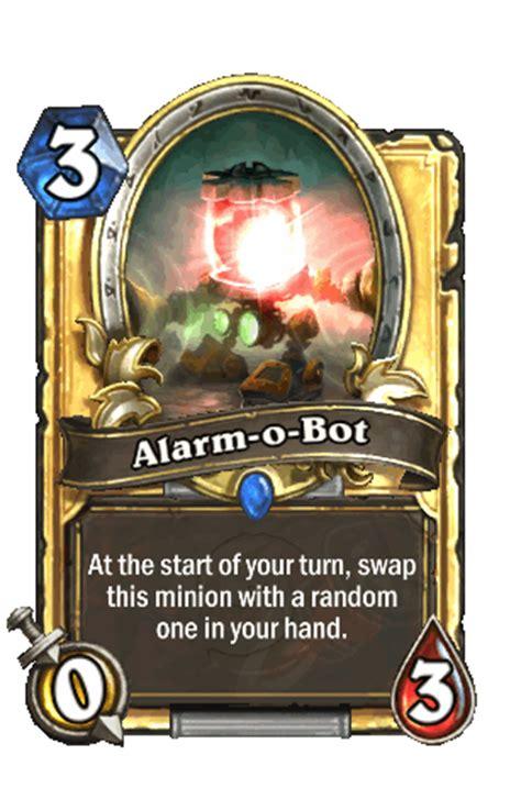 alarm o bot hearthstone heroes of warcraft wiki