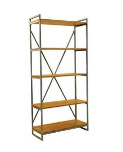 William Industrial Teak Book Shelf   Wihardja Furniture Singapore