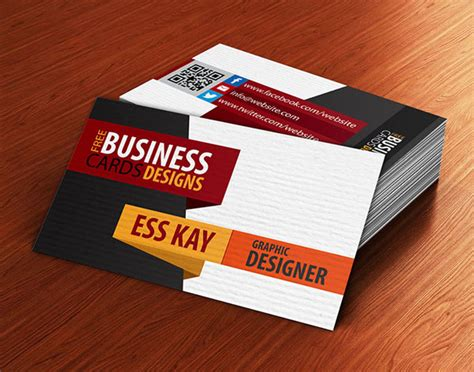Free Business Cards Psd Templates