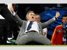 Mourinho's crazy celebration against City MARCA English