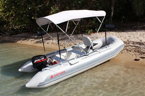Inflatable Motor Boat by Affordable 13 5 Long Saturn Inflatable Motor Boat With