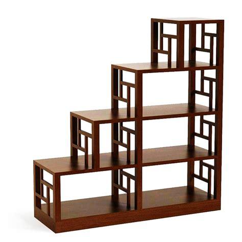 etagere bois escalier