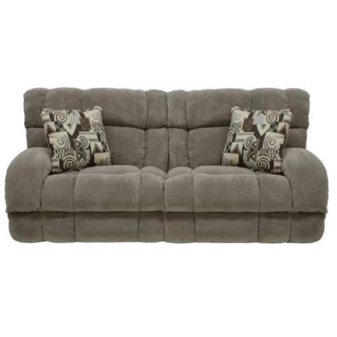 catnapper siesta power lay flat reclining fabric sofa in porcini 61761198349198449