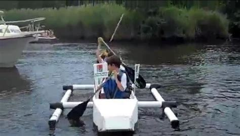 Cardboard Boat Videos by Video Cardboard Boat Race Draws Thousands Downtown