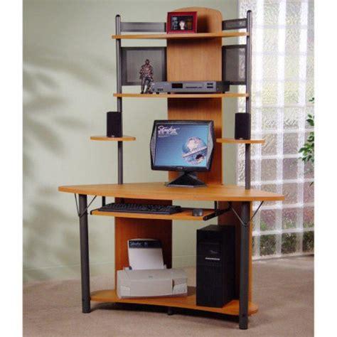 modern corner desk workspace for small office design ideas