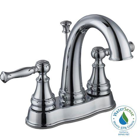 glacier bay fairway 4 in centerset 2 handle high arc bathroom faucet in chrome hd67529w 6201