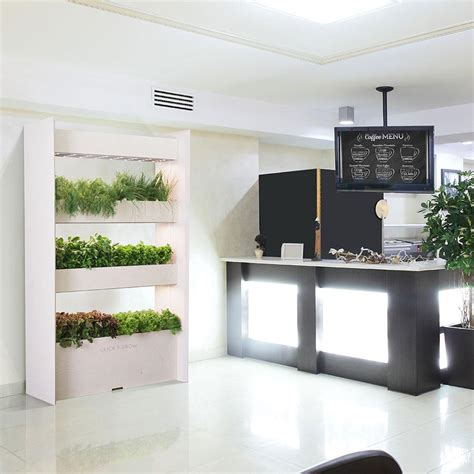 The Wall Farm Indoor Vertical Garden  Click & Grow