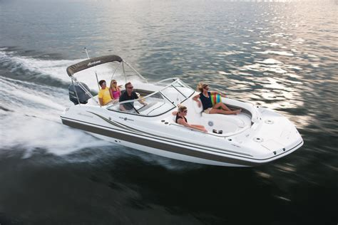 research 2014 hurricane deck boats sundeck sd 237 ob on iboats