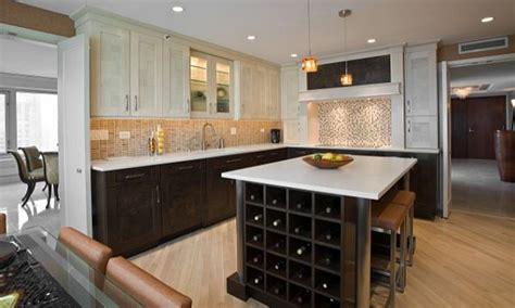 light hardwood floors brown kitchen cabinets kitchens with cabinets floors and light