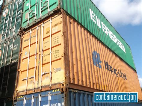 shipping containers as storage sheds containerauction