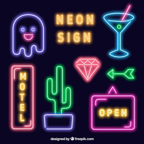 Bright Neon Signs Collection Vector  Free Download. Evacuation Route Signs. Necrotizing Signs. Fundamental Signs Of Stroke. Commercial Signs. Kitchen Door Signs Of Stroke. Ciri Signs. 10 Week Signs. Conversion Signs