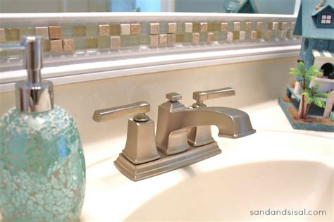 a s guide to installing a faucet sand and sisal