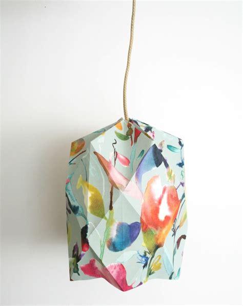 1001 projets diy cool pour fabriquer un luminaire origami