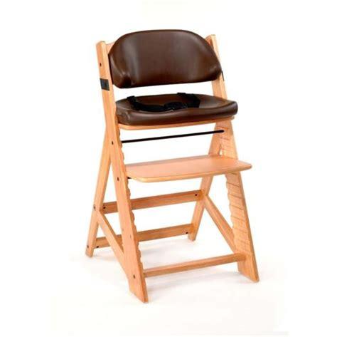 keekaroo height right high chair chocolate comfort cushion n cribs