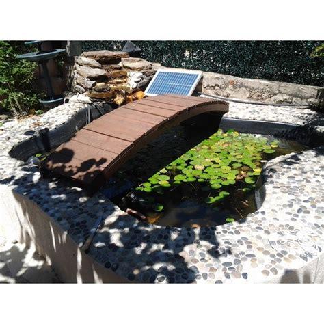 pompe solaire de bassin 1500 litre par heure aliment 233 e par l 233 nergie solaire