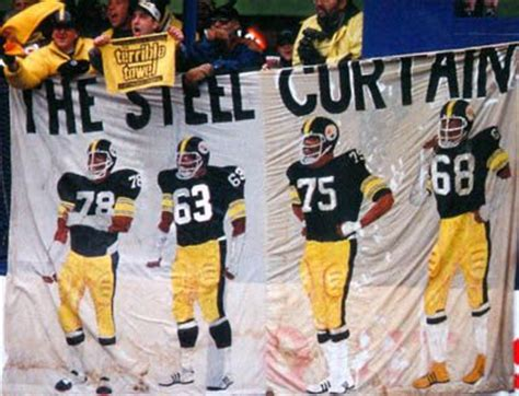 the steel curtain four referred to the four defensive