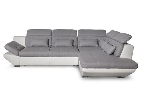 canap 233 convertible avec tiroir bi mati 232 re gris clair blanc bali usinestreet fr