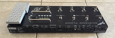 fender mustang floor guitar multi effects pedal unit reverb