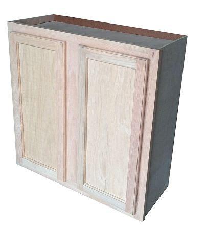 unfinished oak wall cabinet 30x30 master bath makeover