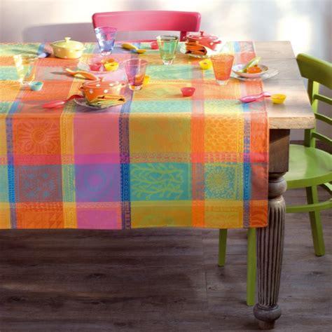 nappe de table multicolore fantaisie haut de gamme