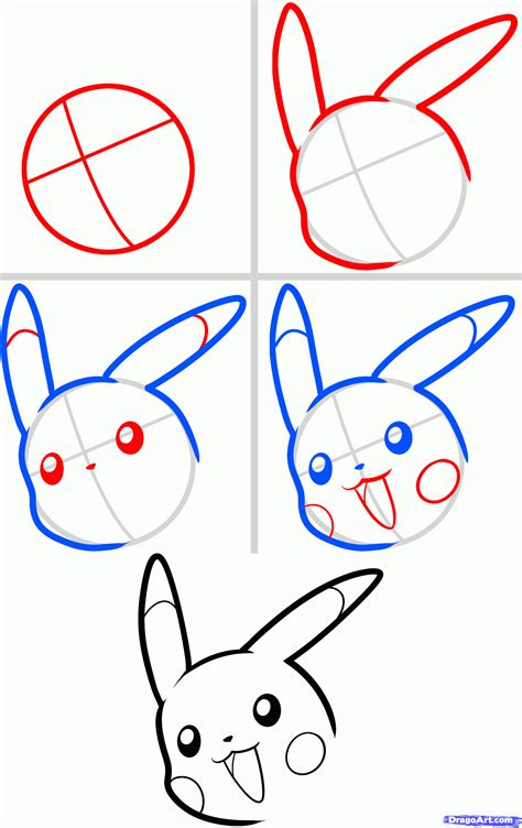 How To Draw A Cartoon Phoenix Step By Step Pencil
