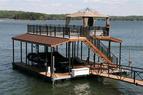 Boat Slip In Spanish by Marine Specialties Floating Dock Future River Lake House
