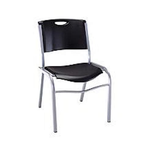 lifetime 2830 lifetime black stacking chair on sale free
